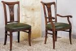 כיסאות יוקרה ואיכות מושב קפיצים עם גב עץ מעוצב דגם 1.9-2.3 --RAMONA-155-S במידות רוחב-49 עומק -56  גובה מושב-50  גובה כיסא-96 . כיסא עם ידיות דגם 2.5-2.9 - 155-C במידות אורך-59 עומק-59 גובה מושב-51 גובה כיסא-96. דוידה מוביל-איטליה.  ניתן לבחירת  צבע וגוון עץ,בד ואו עור. דיזיין .G.D - גלרי דענתיק . ברח' דוד המלך 1 הרצליה פיתוח. www.gallerydeantique.com