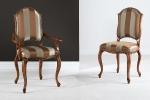 כיסאות יוקרה מיוחדות  evita מושב קפיצים דגם 2.8-3.8 - 1018-S במידות רוחב-56 עומק -57  גובה מושב-52 גובה כיסא-107 . כיסא עם ידיות דגם 3.8-4.8 - 1018-C במידות אורך-65 עומק-57 גובה מושב-52 גובה כיסא-107. דוידה מוביל-איטליה. ניתן לקבל עם ניטים או סרט . ובבחירת, צבע וגוון עץ,בד ואו עור.        דיזיין .G.D - גלרי דענתיק . ברח' דוד המלך 1 הרצליה פיתוח.  www.gallerydeantique.com
