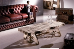art-7044-שולחן סלון/קפה עתיק