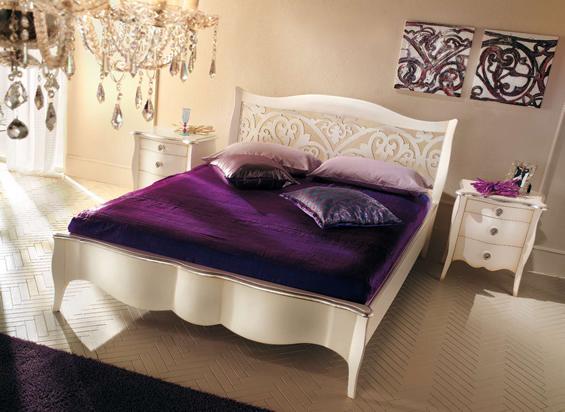 נפלאות חדר שינה מעוצב – מיטות מעוצבות LV-42
