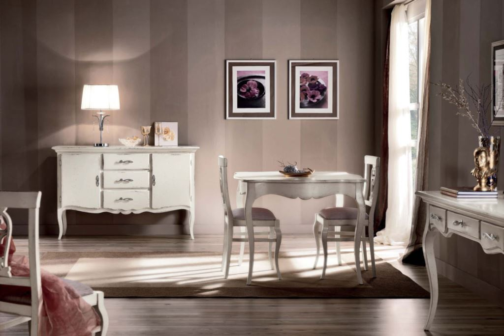 Sideboards decorated living room for Stile provenzale ikea