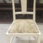 2 - כיסא דולפי כפרי וינטז' מרופד במושב לפי בחירה  מחיר רגיל 2300 ש''ח מחיר מבצע למלאי בלבד - 1300 ש''ח