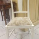 3 - כיסא דולפי כפרי וינטז' מרופד במושב לפי בחירה  מחיר רגיל 2300 ש''ח מחיר מבצע למלאי בלבד - 1300 ש''ח