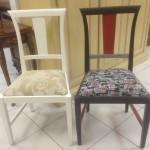 5 - כיסא דולפי כפרי וינטז' מרופד במושב לפי בחירה  מחיר רגיל 2300 ש''ח מחיר מבצע למלאי בלבד - 1300 ש''ח