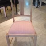 6 - כיסא דולפי כפרי וינטז' מרופד במושב לפי בחירה  מחיר רגיל 2300 ש''ח מחיר מבצע למלאי בלבד - 1200 ש''ח
