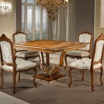 SQUARED DINING TABLE