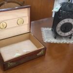 כלי לאוסף סיגרים ושעון אספנים