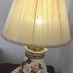 מנורה פירחונית רומנטית